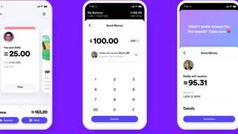 """Die Pläne von Facebook zur Lancierung der eigenen Digitalwährung Libra stossen auf viel Kritik und Widerstand - im Bild das geplante """"digitale Facebook-Portemonnaie"""" Calibra."""