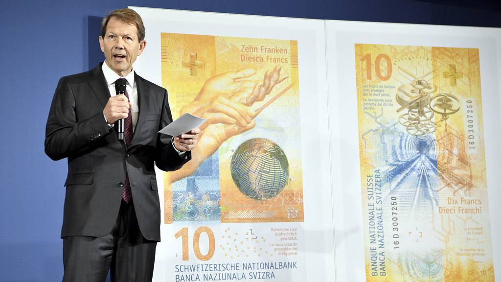 Neue 10-Franken Note SNB
