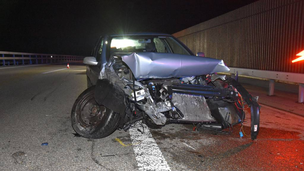 Unfall auf der Autobahn A3 – 25-Jähriger leicht verletzt