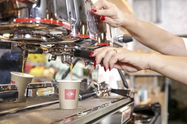 Frischer italienischen Kaffee.