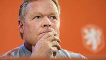 Lieber in Blau-Rot als Oranje: Ronald Koeman möchte von der niederländischen Nationalteam als Trainer zum FC Barcelona wechseln