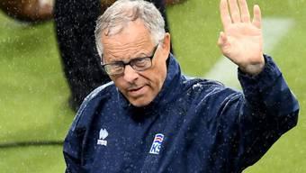 Kann erhobenen Hauptes als Islands Coach abtreten: Lars Lagerbäck