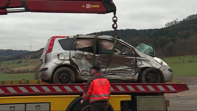 Unfall auf Möhliner Höhe
