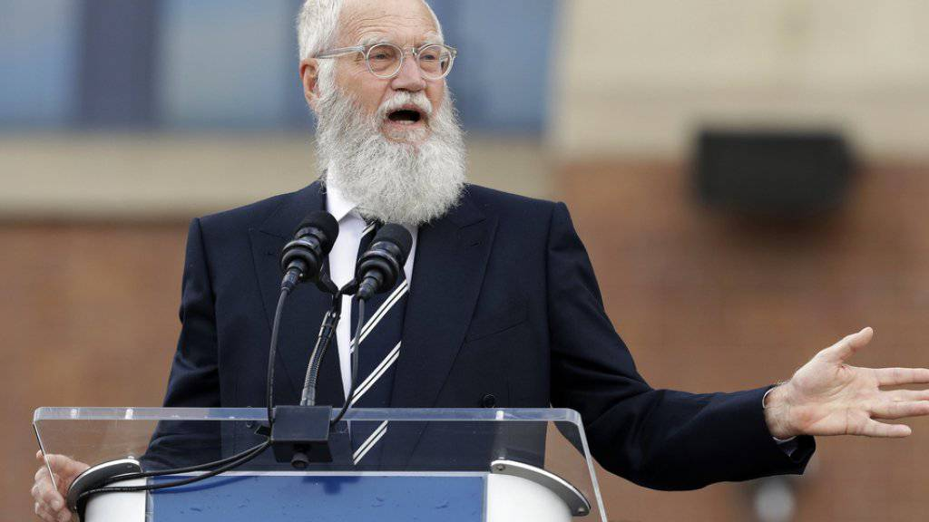 David Letterman hat am 22. Oktober 2017 den Mark-Twain-Preis für Amerikanischen Humor erhalten. (Archiv)