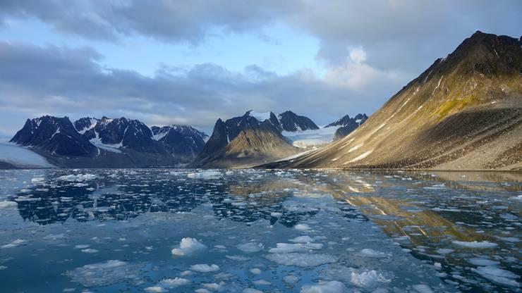 Jede zweite Nacht war ich für die Eis- und Ankerwache auf dem Schiff verantwortlich. Es war nicht immer ganz einfach sich wach zu halten.