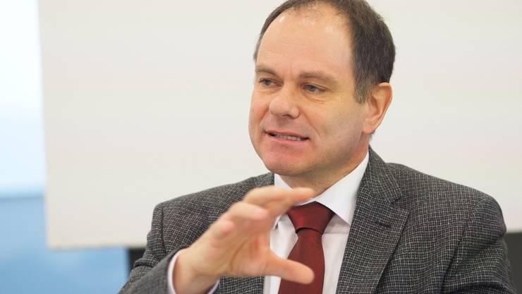 Nach 16 Jahren im Amt wird Sozialdirektor Peter Schafer Ende Juli 2017 aus dem Stadtrat ausscheiden.