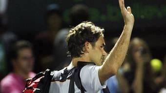 Roger Federer wird das Schweizer Publikum in Bern begrüssen.