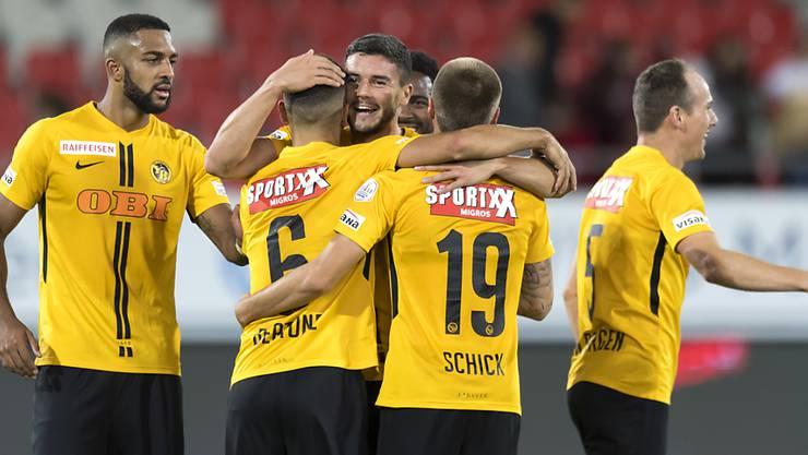 Die Young Boys werden ihre drei Heimspiele in der Champions-League-Gruppenphase vor vollen Rängen bestreiten
