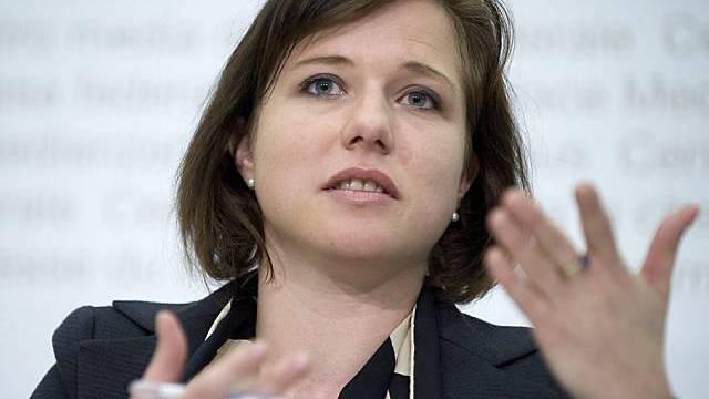 Christa Markwalder, FDP-Nationalrätin, Bern, steht im Dienst der Zurich
