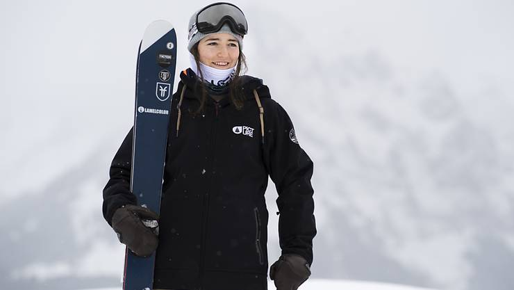 Mathilde Gremaud gewinnt an den X-Games in Aspen Gold im Big-Air-Contest