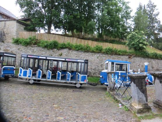 Das war der Mini Zug, der einem Fribourg zeigte
