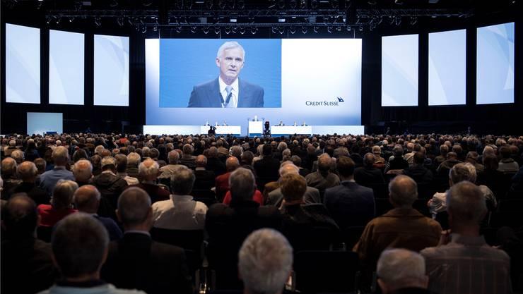 Die Credit Suisse mit Präsident Urs Rohner an der Spitze steht wegen ihrer hohen Managerlöhne wiederholt in der Kritik. Ennio Leanza/Keystone