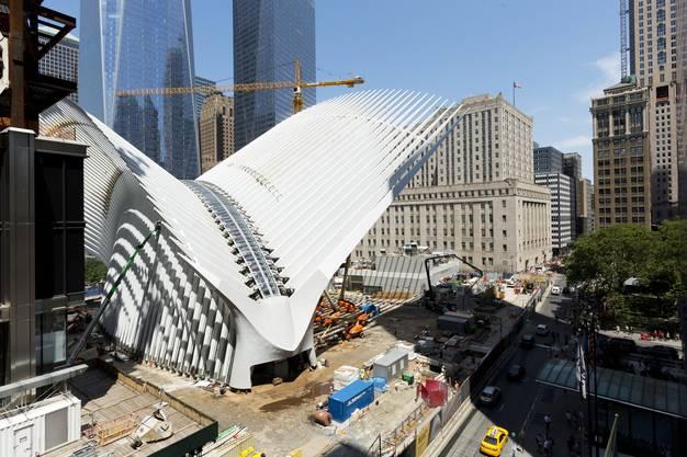 Nachdem «Oculus» Milliarden verschlungen hat, soll der Verkehrsknotenpunkt Pendler, Touristen und Einkäufer anziehen.