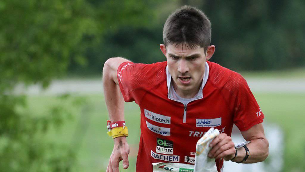 Fabian Hertner brachte die Schweiz im Staffel-Rennen ins Hintertreffen