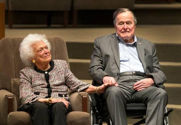 Die ehemalige First Lady, hier im Jahr 2017, starb im Alter von 92 Jahren.