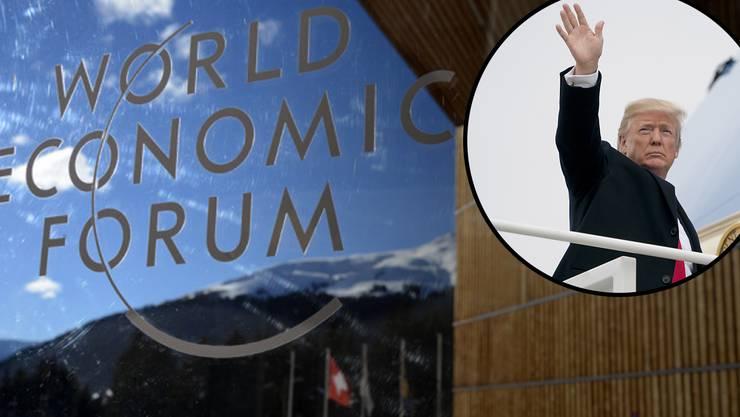 US-Präsident Donald Trump wird das WEF in Davos besuchen. Und wie alles, was Trump tut und sagt, polarisiert auch seine Reise in die Alpen.