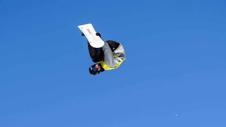 Pat Burgener schliesst die Weltcup-Saison der Halfpipe-Snowboarder mit seiner Bestleistung ab