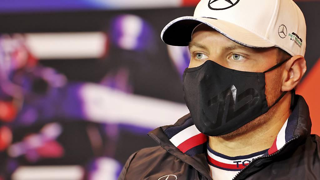 Valtteri Bottas im Mercedes war einen Hauch schneller als Teamkollege Lewis Hamilton und Max Verstappen im Red Bull