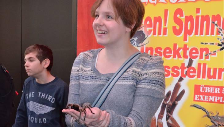 Für Marion Schumacher (rechts) ist die Begegnung äusserst angenehm.
