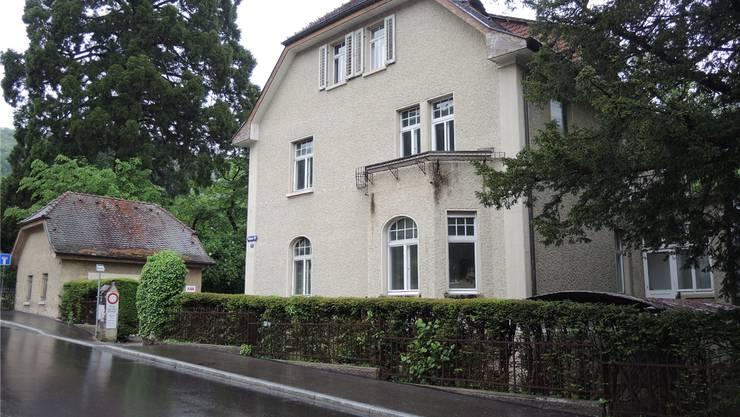 Hier an der Wiesenstrasse 28 soll ein Doppelkindergarten entstehen. az archiv