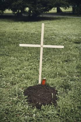 Die Stadtgärtnerei hatte vorgängig keine Kenntnis vom Anlegen der Grabstelle.