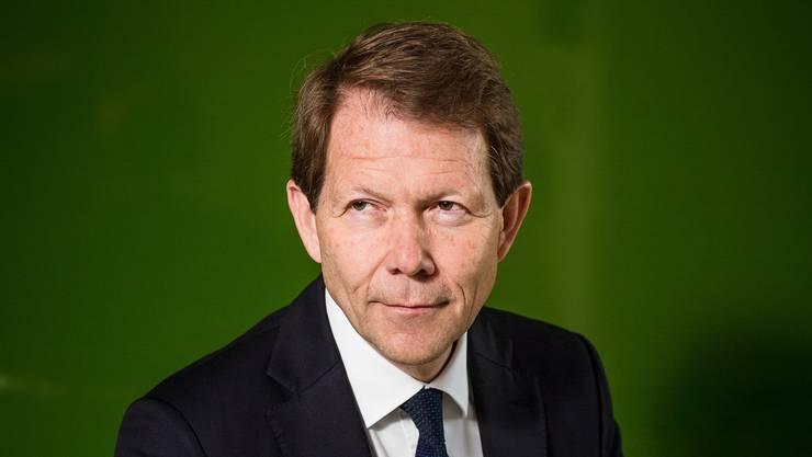 «Der Entscheid, aus dem Mindestkurs-Regime auszusteigen, war unausweichlich»: SNB-Vizedirektor Fritz Zurbrügg.