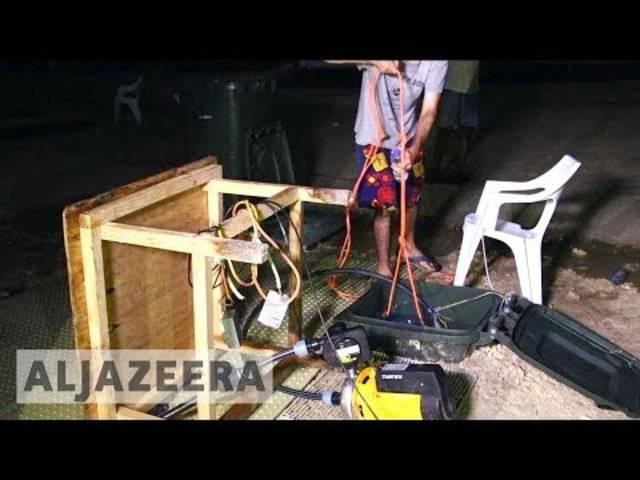 Polizei dringt in australisches Flüchtlingslager im Pazifik ein