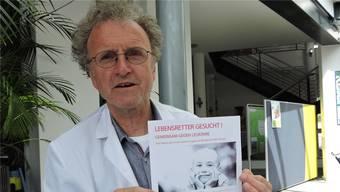 Manfred Gartner sucht Blutstammzellenspender. Freunde des erkrankten Mädchens organisieren ausserdem ein Solidaritätsfest.