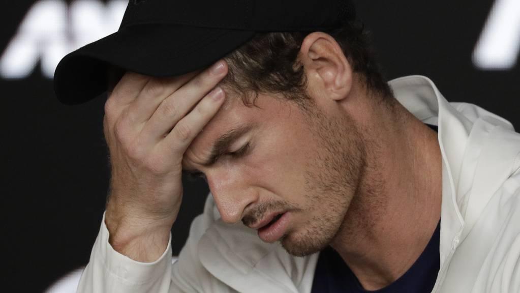 Will vor dem Australian Open kein Risiko eingehen: Andy Murray