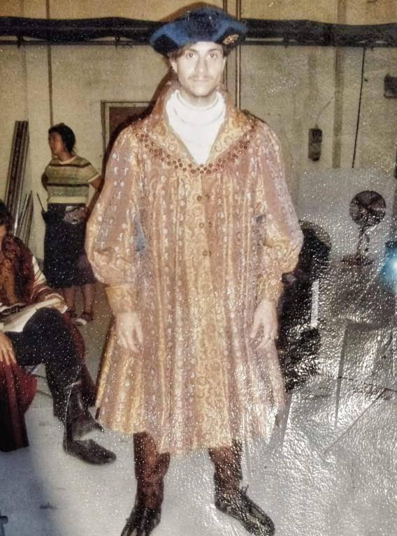 Wie gemalt: Philip Andrew Trümpi als Prinz Philip