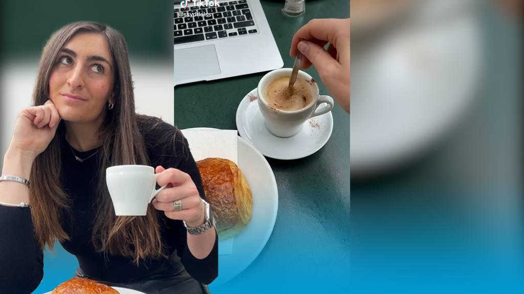 Influencerin wundert sich über hohe Schweizer Kaffeepreise