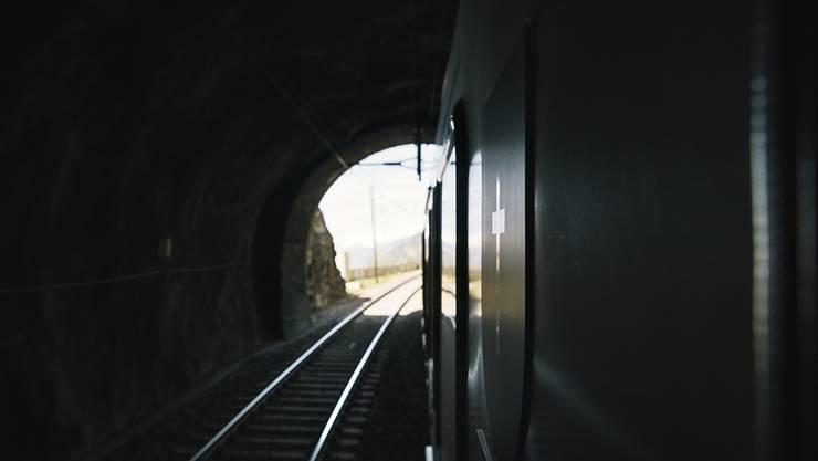Bald wieder durchgängig befahrbar: der Lötschberg-Basistunnel. (Archivbild)