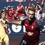 Roberto Torres verhinderte mit seinen zwei Toren den ersten Auswärtssieg von Meister Barcelona
