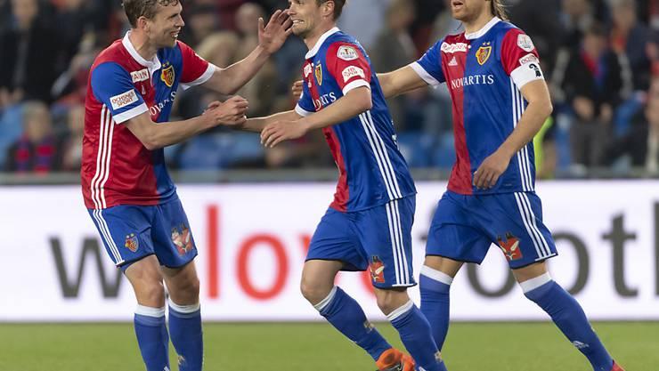 Valentin Stocker beweist, wie gern er gegen den FCZ trifft