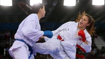 Karateka Elena Quirici (r.) wurde 2016 Europameisterin.