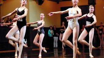 Graziös: Ballett der Spitzenklasse boten die Elevinnen auf dem Parkett des Konzertsaals.