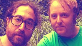 Sean Ono Lennon (links) und James McCartney - beide Musiker und beide Abziehbilder ihrer Beatles-Väter John und Paul. (Instagram)