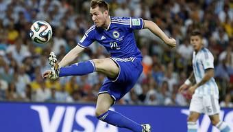 Izet Hajrovic an der WM im Einsatz für Bosnien.