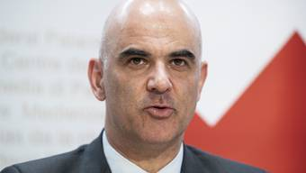 «Unsere Solidarität ist echt», betont Alain Berset in seiner Rede zum Nationalfeiertag in Bellinzona.