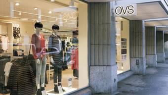 OVS steckt in der Schweiz in Schwierigkeiten.
