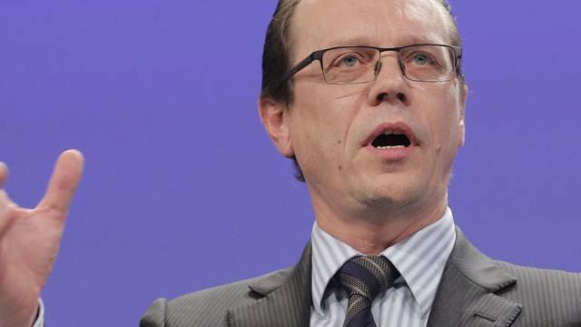 Algirdas Semeta warb für die erweiterte Zinsbesteuerungsrichtlinie