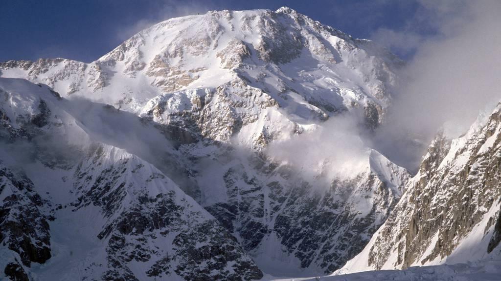 Sicht auf den Mount McKinley in Alaska