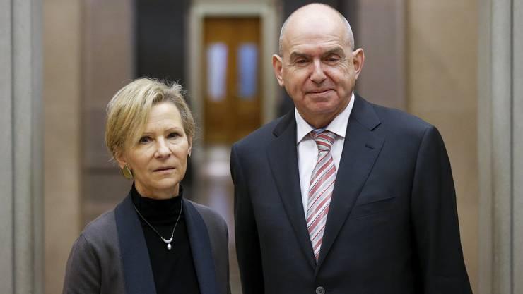 Martha Niquille ist als Nachfolgerin von Bundesgerichtspräsident Ulrich Meyer vorgesehen.