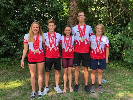 Medaillengewinner NSM 2019