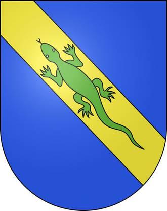 Aufgrund des dort hiesigen Pharmariesens Merck Serono zahlt dieGemeinde umgerechnet 41'724 Franken pro Einwohner an den Bund und ein cooles Wappen haben sie auch noch!