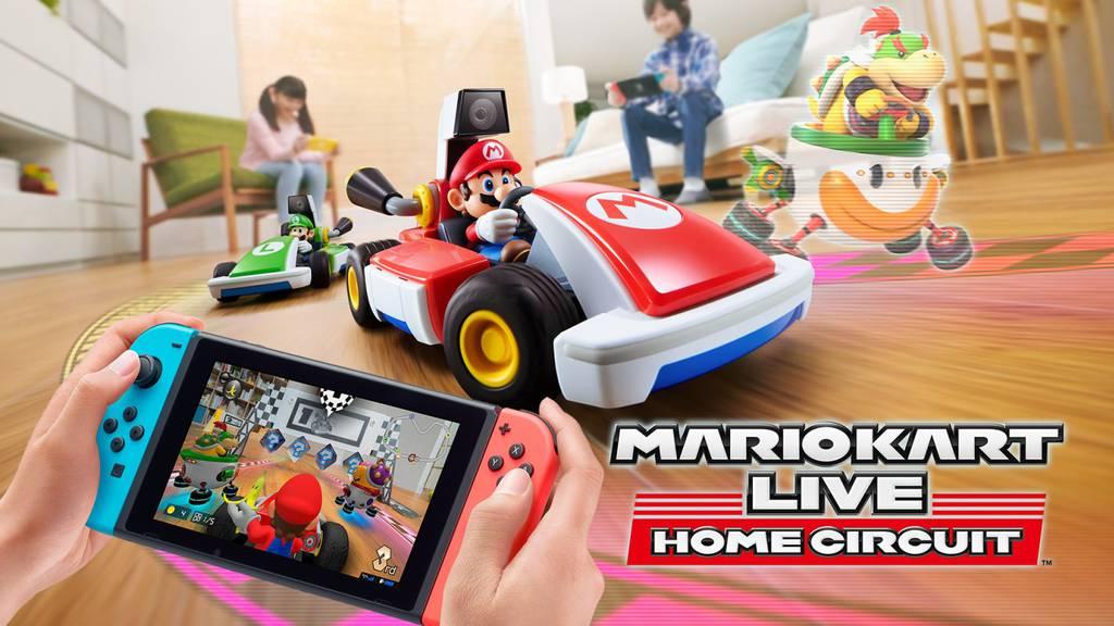 «Mario Kart»-Revolution: Jetzt fahren echte Karts durch's Wohnzimmer!