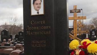 Grabstein des nun verurteilten Anwalts Sergei Magnitski