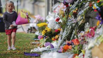 Trauer in Christchurch/Neuseeland (Stand: Sonntag, 17.3.2019)