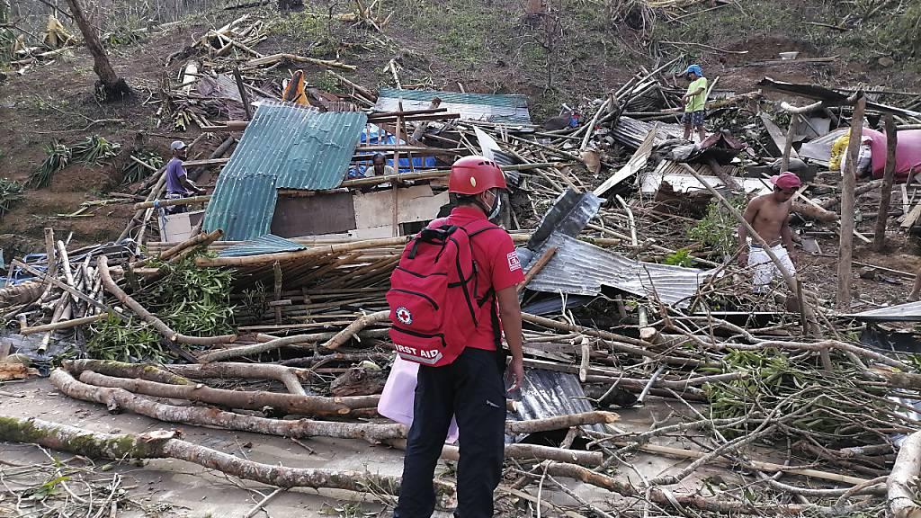 Mindestens 24 Tote nach Super-Taifun «Goni» auf den Philippinen