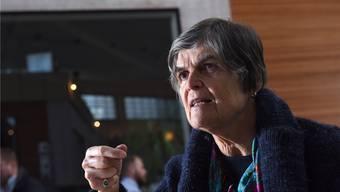 76 Jahre und kein bisschen müde: Basta-Kandidatin Beatrice Alder.